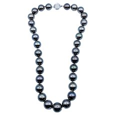 Timeless South Sea Tahitian Pearl Necklace
