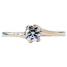 Simple & Elegant Diamond Solitaire Ring