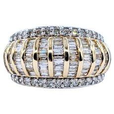 Splendid 2 Carat Diamond Cocktail Ring