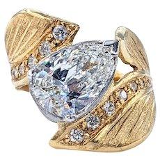 Astonishing 1.60 Carat Diamond Cocktail Ring by Rosario Garcia