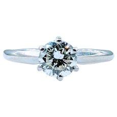 1.03ct Diamond Solitaire Ring