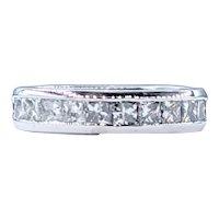 Flashing Princess Cut Diamond Band - 1.00 Carat