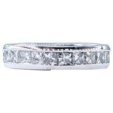 Flashing Princess Cut Diamond Band - 1.00 Carat
