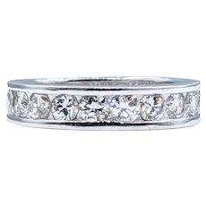 Beautiful 1.10ctw Diamond Band Ring
