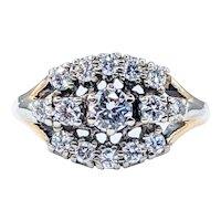 Stunning Vintage Diamond Cocktail Ring