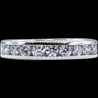 Traditional Brilliant Cut Diamond Wedding Band