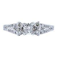 Beautiful Vintage Multi Diamond Ring