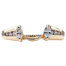 Fabulous Marquise Cut Diamond Ring Enhancer