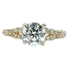 Stunning 1 Carat Diamond Engagement Ring