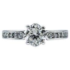 Unique Cushion Cut Diamond Engagement Ring
