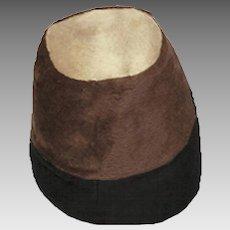 1960s Mr. John Banded Flower Pot Hat, Hat Size 22