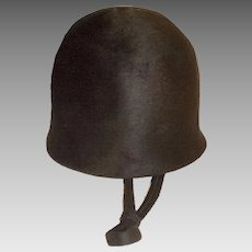 Don Anderson Hat, 60s Mod Riding Hat Style, Hat Size 22