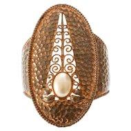 Karl Lagerfeld Copper Cuff Bracelet