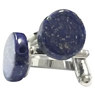 Royal Blue Lapis Lazuli Cuff Links