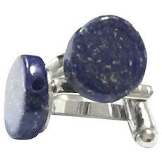 Royal Blue Lapis Lazuli Cuff Links