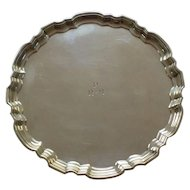 "Tiffany & Co. Sterling Silver 6"" Salver / Tray, c, 1947-1956"
