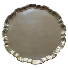 """Tiffany & Co. Sterling Silver 6"""" Salver / Tray, c, 1947-1956"""