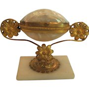 French GRAND TOUR Mother-of-Pearl Jewelry Box on Stand