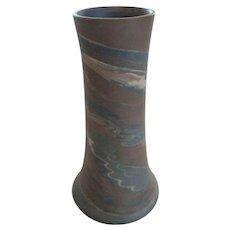 """Niloak MISSION WARE Swirl 10"""" Vase, Second Mark (#2)"""