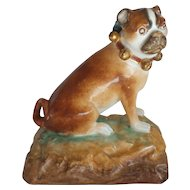 French PUG Figurine / Sculpture, JACOB PETIT, c. Mid-1800's