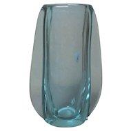 "Sevres Crystal ALEXANDRITE 11.75"" Mid-Century Vase"