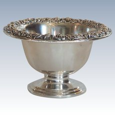 Kirk REPOUSSE Sterling Silver Bowl / Candy Dish