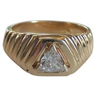 14 Karat Gold & Diamond Ring, 2000 Appraisal @ $2380.00