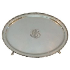Kirk Sterling Silver Teapot Stand #61, 140 grams