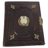 Victorian Carte de Viste Leather Photograph Album, c. 1870
