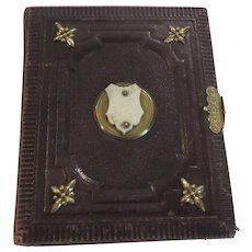 Victorian Carte de Viste Leather Photograph Album, c. 1870