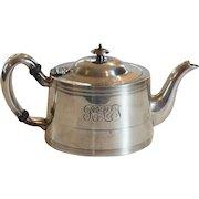 GALT & BRO. American Sterling Silver Tea Pot, 500 grams