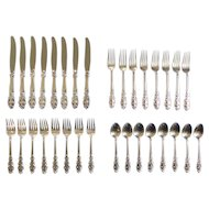 Towle ESPLANADE Sterling Silver 32-Piece Luncheon / Place Service Set