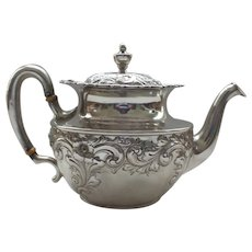 19th C. Sterling Silver Teapot