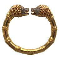 14 Karat Gold Bracelet, DIAMOND & CITRINE, Appraised $7950.00