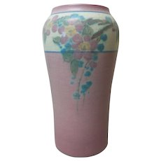 "ROOKWOOD Art Pottery Elizabeth McDermott 7"" Vase, #935E, Signed & Dated 1920"