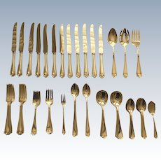 Alvin MARYLAND Sterling Silver Flatware Set, 74 Pieces