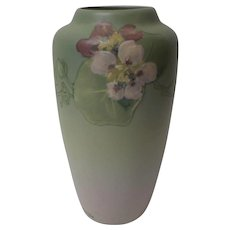 Weller HUDSON Art Pottery Matte Vase, Signed McLaughlin, c. 1920's