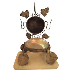 French GRAND TOUR Pocket Watch Holder, Jewelry Holder, Ormolu Stand