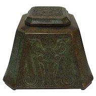 Tiffany Studios Bronze CHINESE Master Inkwell #1753