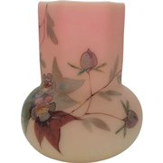 WEBB BURMESE Miniature Vase, Hawthorn Pattern