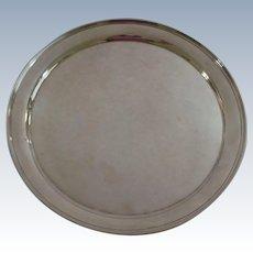 "Vintage Stieff Sterling Silver 12"" Platter/Tray"