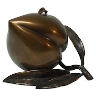 Chinese Bronze POMEGRANATE Incense Burner / Censer