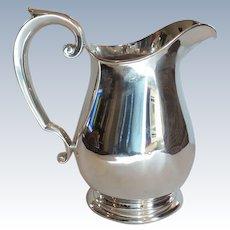 Watson Sterling Silver Water Pitcher, 4-Pints, 620 grams