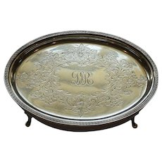 Kirk Sterling Silver Teapot Stand #63