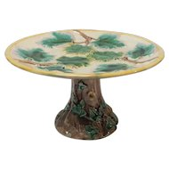 Griffin, Smith & Hill American ETRUSCAN Majolica Cake Stand