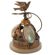 PALAIS ROYAL Mother of Pearl Ormolu Table Servant's Bell (#2)