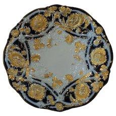 """MEISSEN Porcelain Crossed Swords 10.25"""" Cabinet Bowl"""