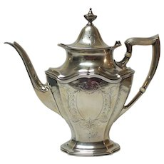 Reed & Barton Sterling Silver HEPPLEWHITE Coffee / Tea Pot