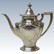 Reed & Barton Sterling Silver HEPPLEWHITE Coffee / Tea Pot
