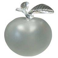 Lalique NINA RICCI Large GRANDE POMME (Apple) Crystal Perfume Bottle